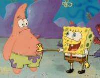 spongebob-touch