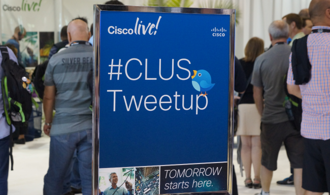 The CLUS Tweetup provides awesome geeky networking