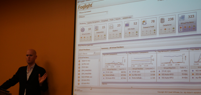 Thomas Bryant gives us a tour of Foglight