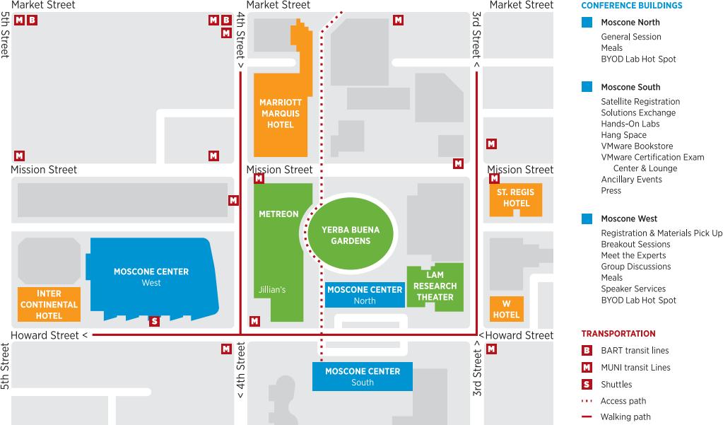 Moscone Center Map Moscone Center Map | compressportnederland Moscone Center Map