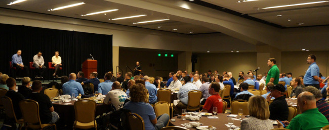 Members of the VMUG Leader community step up to ask their questions