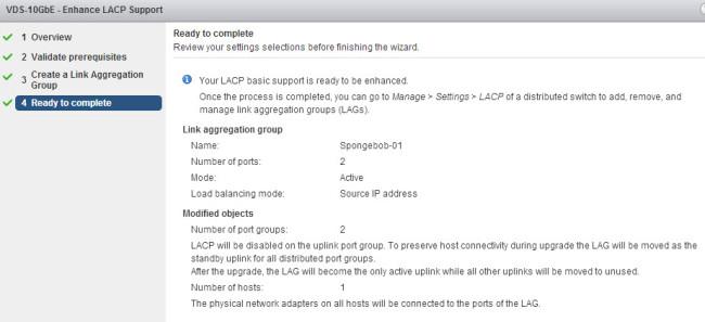 Enhance that LACP, yeah!