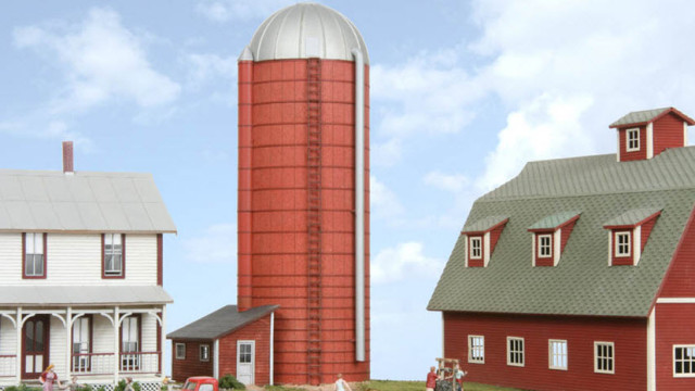 That's a solid looking silo
