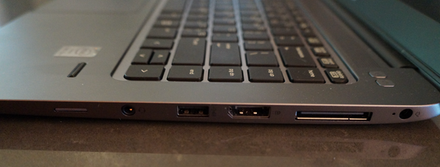 The right side inputs on the EliteBook 1040 G1