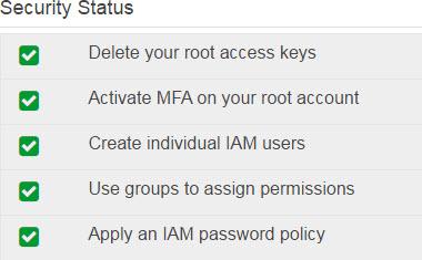 Steps for IAM