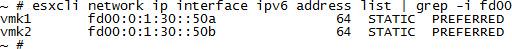 Assigned IPv6 Addresses