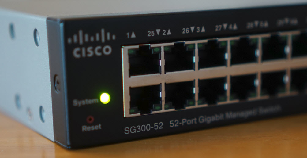 Hands On With A Cisco Sg300 52 Switch Wahl Network