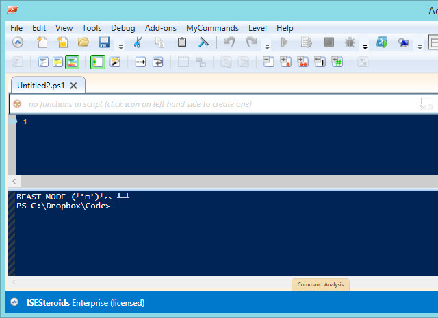 how to use powershell ise