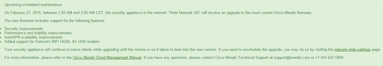 meraki-update